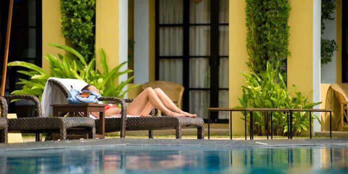 Mejor bienestar relax jardin piscina