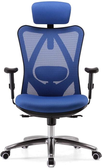Botón para comprar silla ergonómica Sihoo
