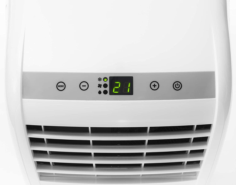Botón a Aire acondicionado portátil 21 grados