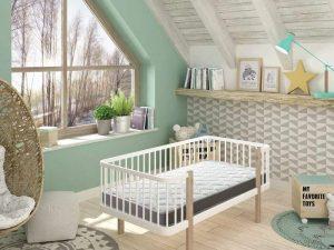 Colchón de cuna para bebé