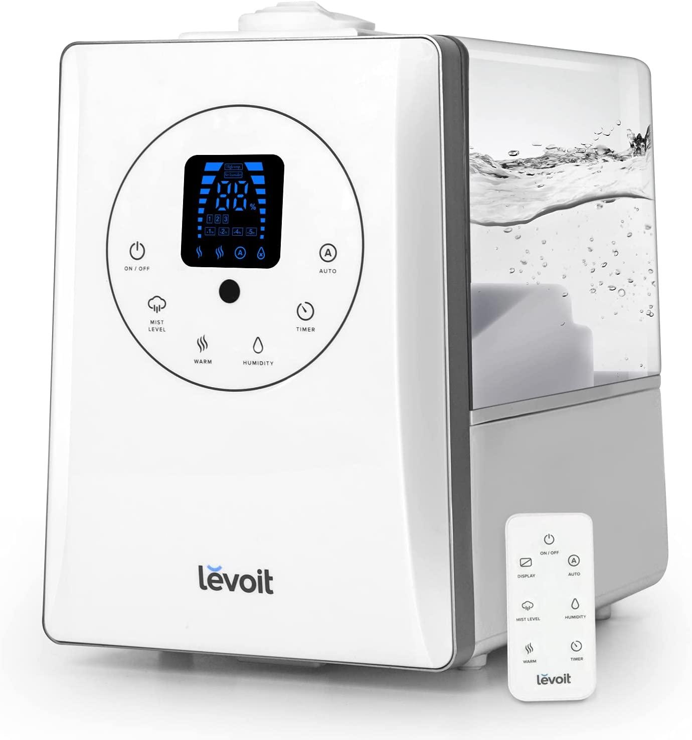 Levoit humidificador ultrasónico 6 litros