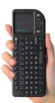 Mini teclado inalámbrico ratón TV Rii Mini X1