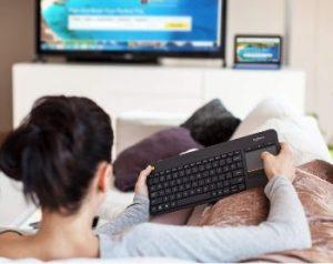 teclado inalámbrico para smart TV